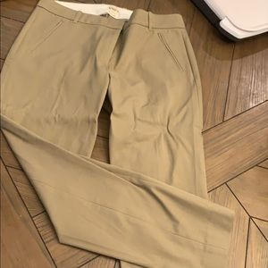 Jcrew NWT khaki 10s - stretchy and comfortable